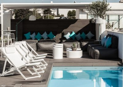 Rooftop Pool Terrace