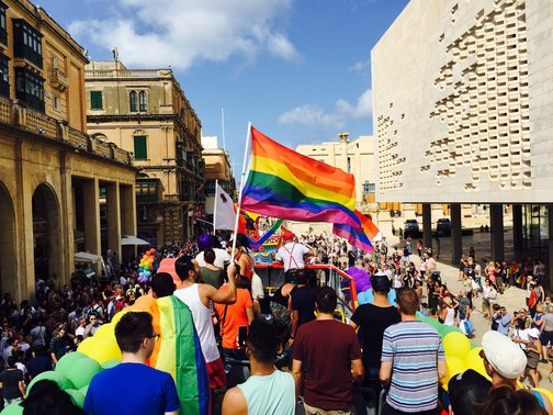 gay vacation malta