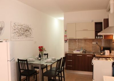 SeaShell Penthouse KItchen-Dining Room