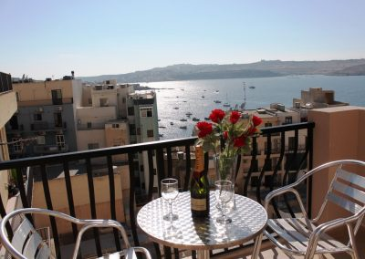Terrace with Seaviews