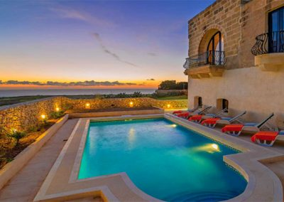 Villas with view