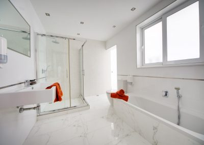 Bathroom with Shower & Bath
