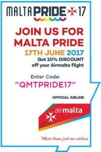 malta, pride, gay guide malta, air malta