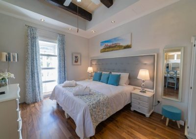 Village Knights bedroom