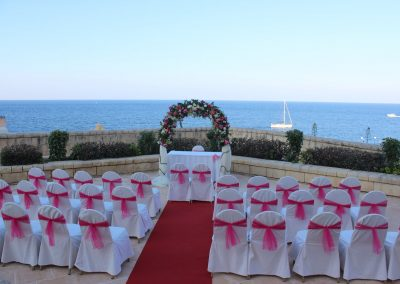 Wedding at Corinthia St George`s Bay